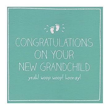 new grandchild congratulations card new baby to grandparents