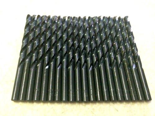 20 NEW 1//4 CLEVELAND TWIST DRILL BITS HIGH SPEED STEEL 118 DEG GENERAL PURPOSE