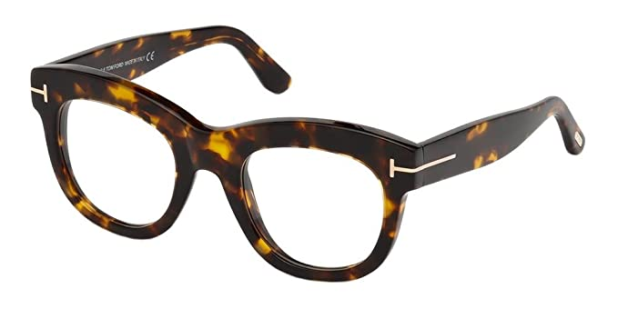 Tom Ford Ft5493, Lunettes de Soleil Mixte Adulte, Marron (Avana SCURA), 7ef27b31ea05
