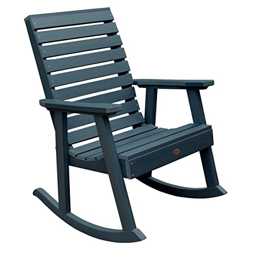 Adirondack Counter Chair (Highwood Weatherly Rocking Chair, Nantucket Blue)