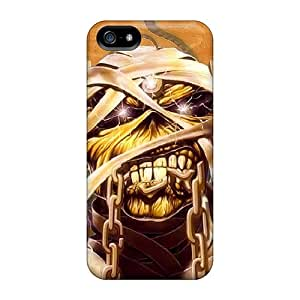 Iphone 5/5s Usuew14835prSlY Iron Maiden Tpu Silicone Gel Case Cover. Fits Iphone 5/5s