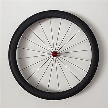 YouCan bicicleta 700 C ruedas de bicicleta de carretera de carbono Tubular 45 mm altura 25 mm Ancho 29er ruedas: Amazon.es: Deportes y aire libre