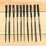 Mangocore 10pcs/Lot Needle File Set Files For Metal Glass Stone Jewelry Wood Carving Craft