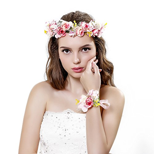 Ever Fairy Wedding Garland Headband
