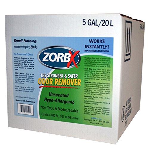 Zorbx - 5 Gallon Unscented Odor Remover by ZORBX