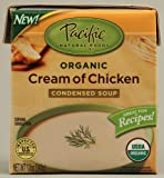Pacific Natural Foods Organic Condensed Soup Cream Of Chicken -- 12 fl oz