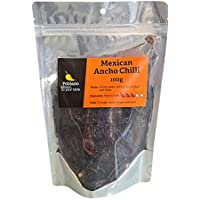 Poblano Mexican Ancho Dry Chillies, 100 g