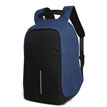 XINGQIANRU Mochila Creativa USB Travel Man Backpack Business Men Bag Computer Mochilas Escolares Paquete Antirrobopuede Colocarse En Una Computadora DE 15.6 ...