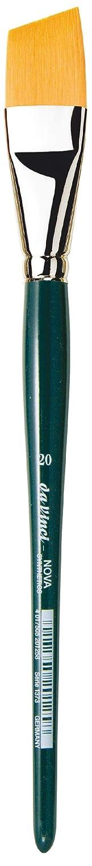 1373-20 Size 20 Slanting Edge Synthetic da Vinci Nova Series 1373 Paint Brush
