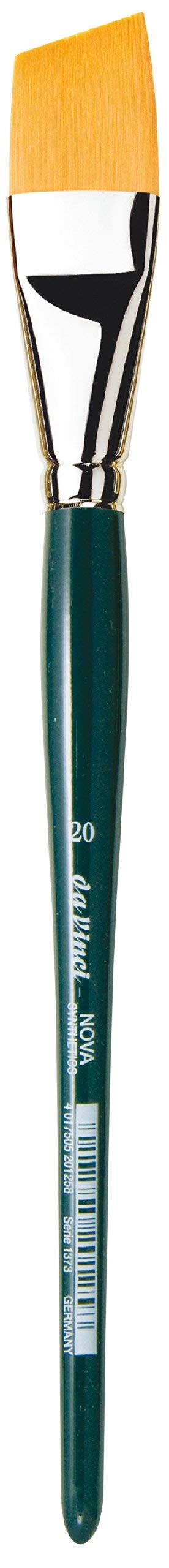 da Vinci Nova Series 1373 Paint Brush, Slanting Edge Synthetic, Size 20 (1373-20)