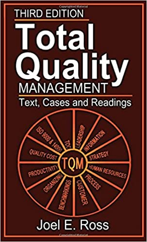 Book Total Quality Management: Text, Cases, and Readings, Third Edition
