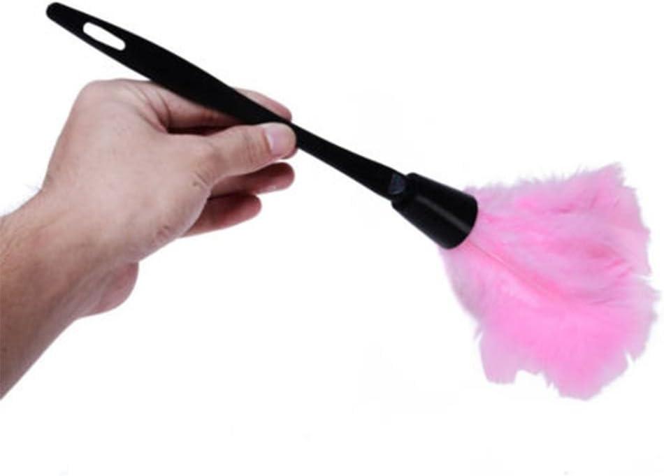 LUFA 35 cm Soft Mini in microfibra Clean Anti statica Turkey Feather Duster Fiber Cleaner Brush