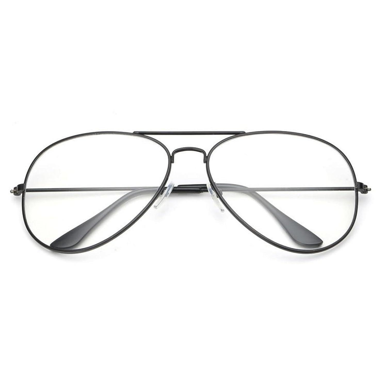 Forepin® Montura Gafas de Aviador para Unisex Hombre y Mujer con ...