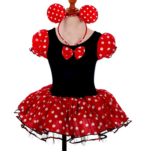 Dressy Daisy Girls' Minnie Mouse Fancy Dresses Dance Costume