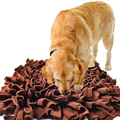 IEUUMLER Schnüffelteppich Hund Riechen Trainieren Schnüffeldecke Futtermatte Trainingsmatte für Haustier Hunde Katzen…