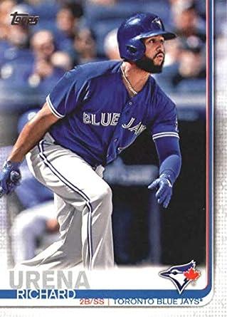 fc805c2e2 Amazon.com  2019 Topps Baseball  39 Richard Urena Toronto Blue Jays ...