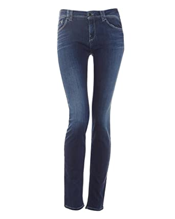 6bd577dfcf Armani Jeans Womens Jeans Mid Light Wash J28 Stretch Skinny  Amazon.co.uk   Clothing