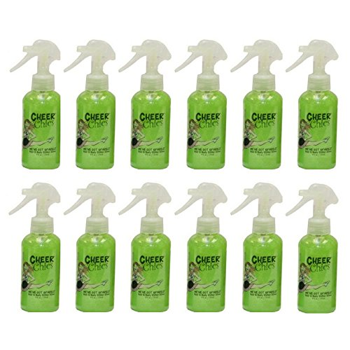 Cheer Chics We've Got Sparkle Hair and Body Glitter - Lime Green 5.2oz (pack of 12) by Cheer Chics