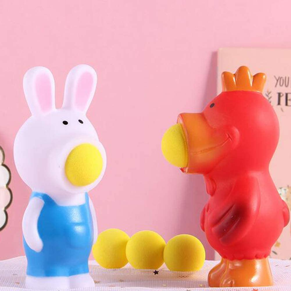 Stress Relief Toys Animal Pop Out Ball Anti-Anxiety for Kids and Adults Squeeze Toy Cow#