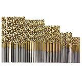 Drill Bits - 50pcs 1 5 2 3mm Twist Drill Bit Set