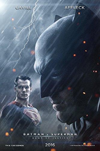 "Batman vs Superman : Dawn of Justice (2015) - 2 - 13""x19"" Borderless Movie Poster"