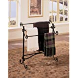 Powell Garden District Scroll Blanket Rack