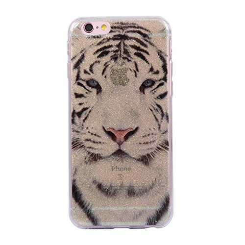 Plus Chreey Anti Silicone Etui De Mode Tpu Plus Ultra Prunier fleur Protection Souple 6 Tigre Iphone 6s Coque rayures mince wrZvrqX