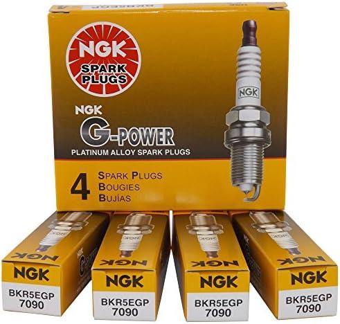 Ngk BKR5EGP Bujía G-Power x 4 Stock 7090 Dko - 51Ua5gn89qL - Ngk BKR5EGP Bujía G-Power x 4 Stock 7090 Dko