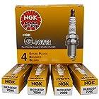 NGK BKR5EGP G-Power Spark Plug, Pack of 4 7090
