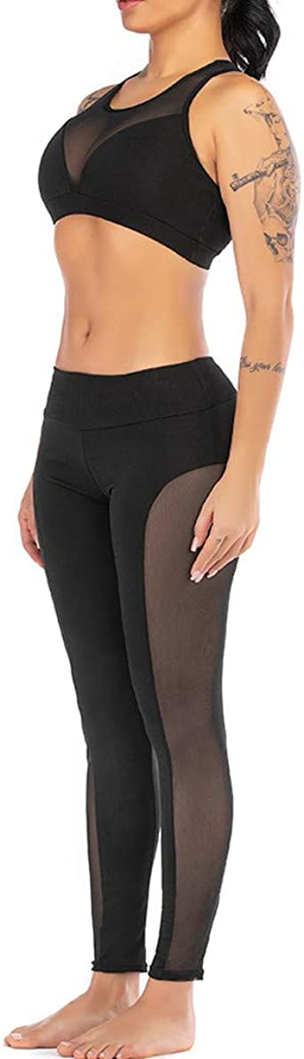 Amazon.com: Xiaoa Womens Solid Color Elastic Leggings and ...