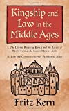Kingship and Law in the Middle Ages: I. The Divine Right of Kings and the Right of Resistance in the Early Middle Ages. II. Law and Constitution in ... S.B. Chrimes (Studies in Mediaeval History)