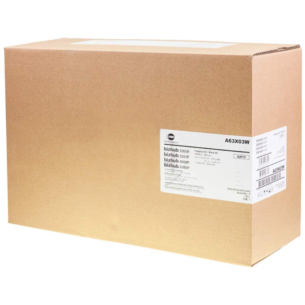 Konica A63X03W OPC Nero 60.000 Lati IUP17 unit/à di Imaging