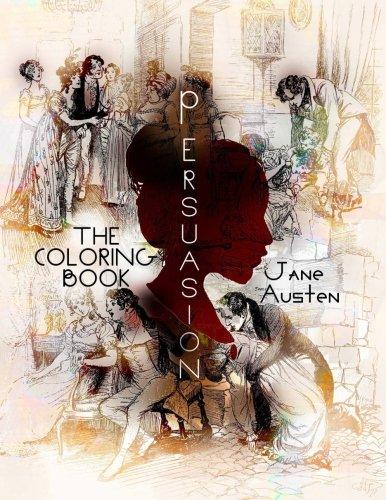 Persuasion Coloring Book Jane Austen