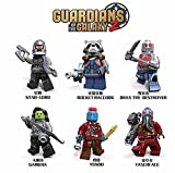 Product review for 6pcs/lot Decool 0262-0267 Guardians of the Galaxy 2 Rocket Man Kamola Predator Star-Lord Building Blocks Children Gifts TOYS