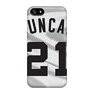 Fashion Tpu Case For Iphone 5/5s- San Antonio Spurs Defender Case Cover