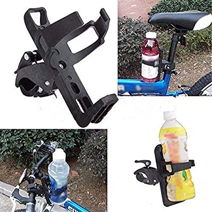 Cycling Bicycle Motorcycle Handlebar Drink Water Bottle Cup Holder Mount Cage