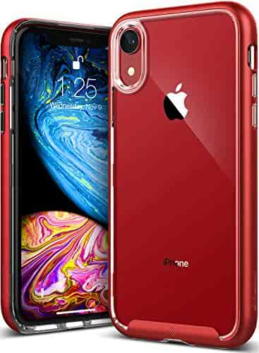 2e490c4f47a Caseology Skyfall for iPhone XR Case (2018) - Clear Back   Slim Fit -