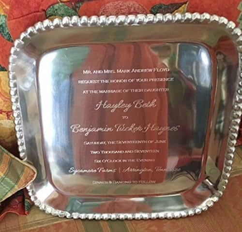 Perfect Wedding Gift Ideas: Amazon.com: Perfect Wedding Gift Engraved Tray