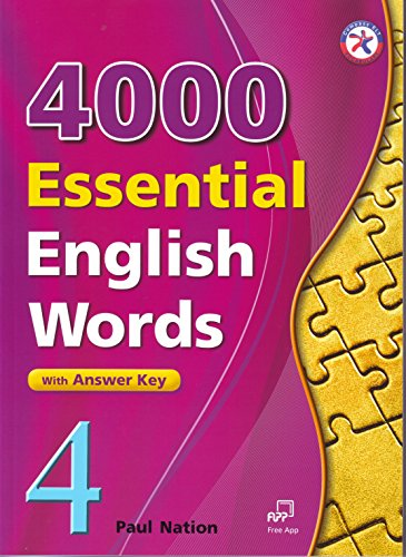 4000 Essential English Words, Book 4 with Answer Key (4000 English Words Essential)
