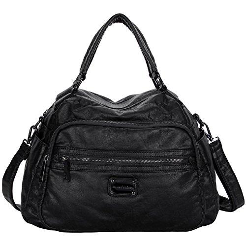 Hynes Victory Retro Hobo Purse Soft Large Handbags for (Large Hobo Handbag Purse)