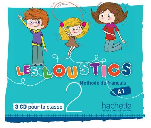 Les Loustics 2 : CD audio classe (x3) (French Edition) (French) Audio CD – Illustrated, June 25, 2013