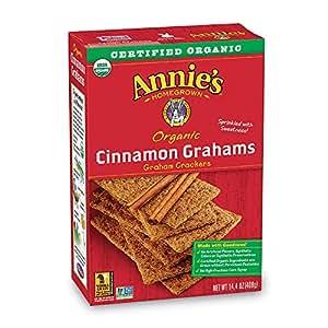 Amazon.com: Annie's Organic Graham Crackers, Cinnamon