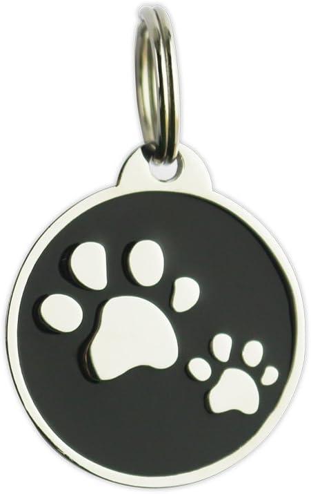 Bow Wow Meow Chapa Inteligente con código QR y Chip NFC | Chapa de Identificación para Perros y Gatos con GPS Pasivo