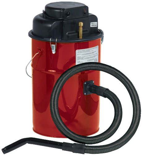 Cougar Ash Vacuum, Red, Made in USA by Dustless Technologies