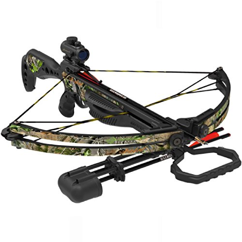 042609784042 - Barnett Jackal Crossbow Package (Quiver, 3 - 20-Inch Arrows and Premium Red Dot Sight) carousel main 0