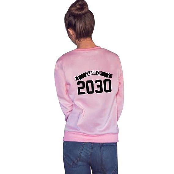 Naturazy Camisetas Manga Larga Mujer Hombre Amante Tumblr OtoñO Camisetas Vestidos Camiseta con Estampado Letras 2018 Camisetas Camiseta: Amazon.es: Ropa y ...