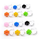 BRBD Waterproof Silicone Swimming Nose Clip Plugs