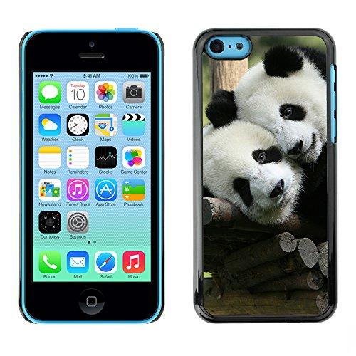 Premio Sottile Slim Cassa Custodia Case Cover Shell // V00002182 Panda // Apple iPhone 5C