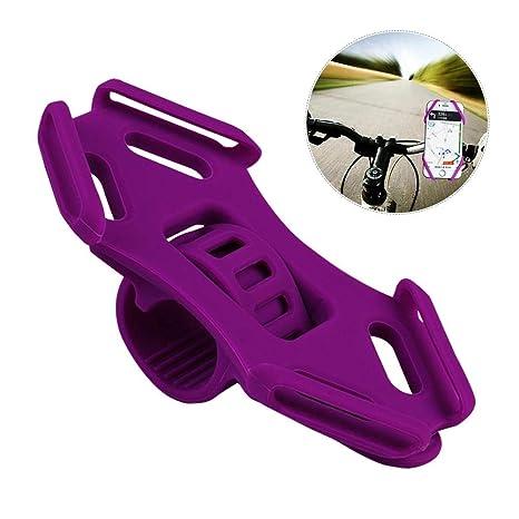 per Soportes para Teléfonos Móviles Unviersales de Silicona para Manillares de Carrito Bebé Moto y Bicicleta