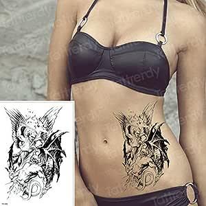 tzxdbh Angel derrota al Tatuaje del Diablo y la Pintura de Arte ...